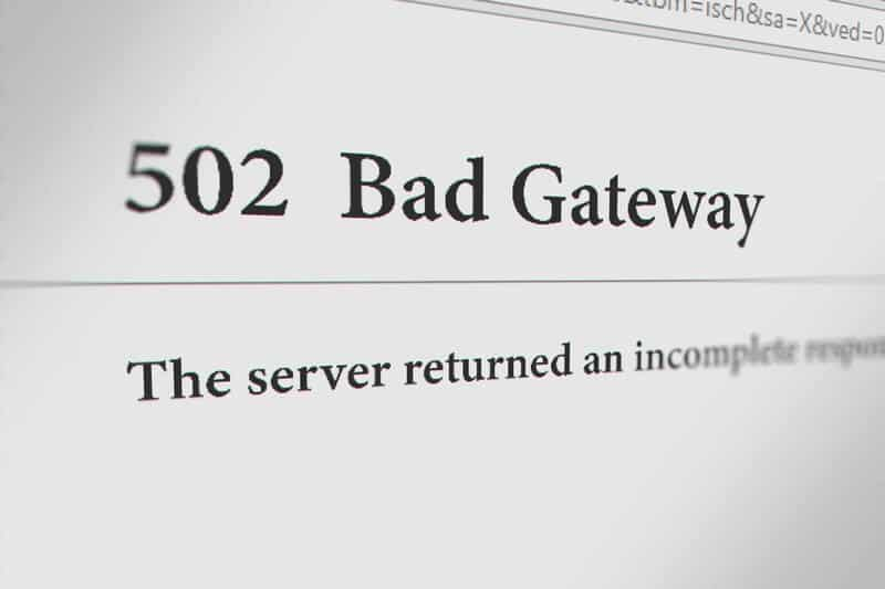 How To Fix 502 Bad Gateway Error On Website