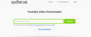 how to download any video from save from .net