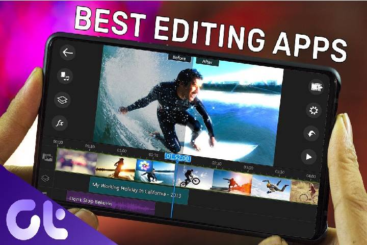 15 Best video editing applications Android 2021