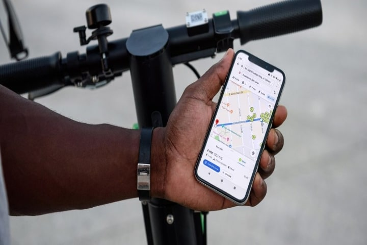 Google Maps adds a new navigation mode for cyclists