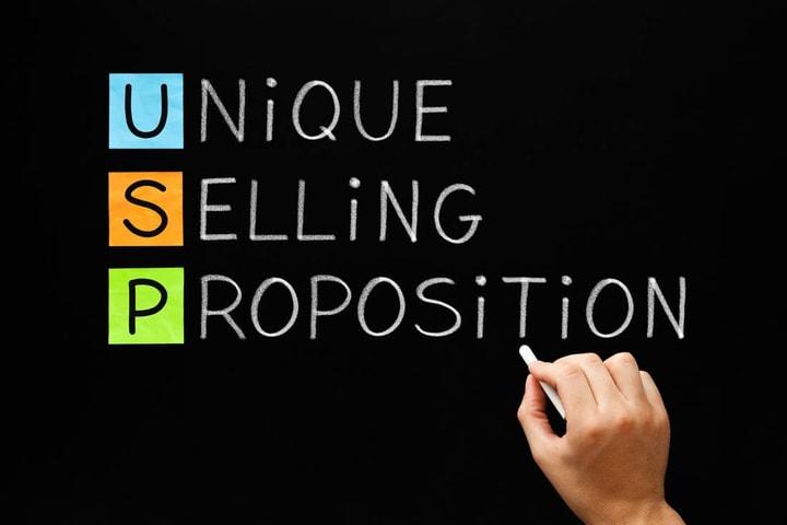 What is a unique selling proposition (USP)? Explain